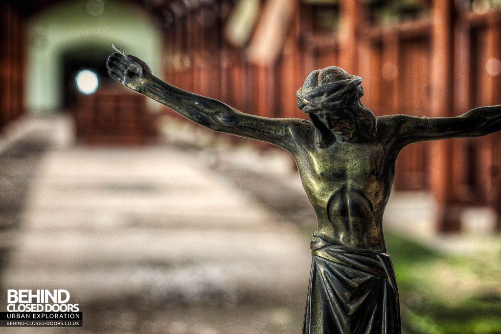 St Joseph's Seminary Upholland - Figure of Jesus