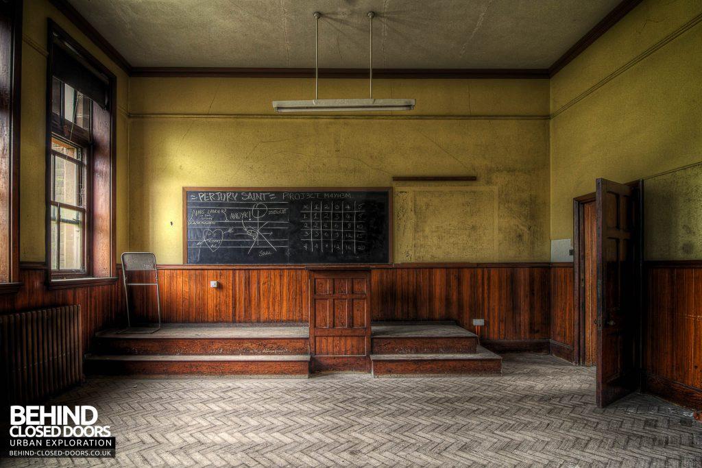 St Joseph's Seminary Upholland - Classroom