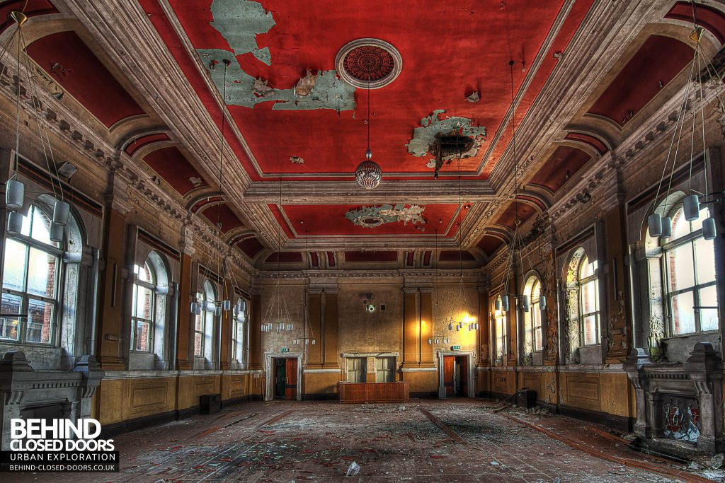 St Georges Hospital, Morpeth - The Grand Hall