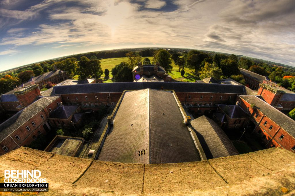 St Georges Hospital, Morpeth - From the top of the tower