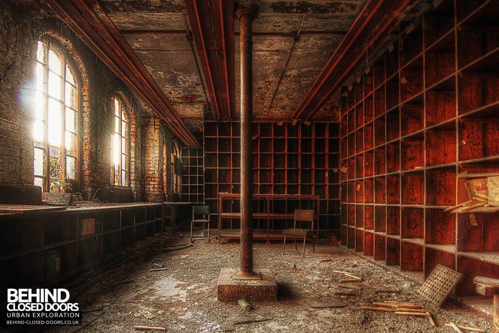 George Barnsley & Sons Cornish Works - Storage Room
