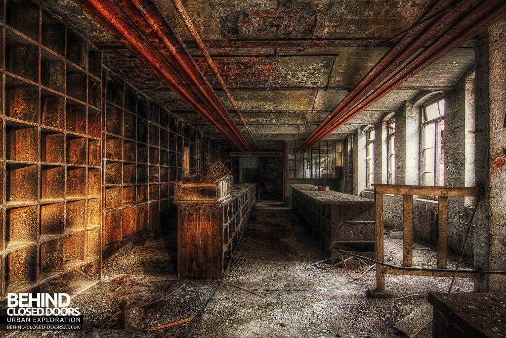 George Barnsley & Sons Cornish Works - Long Room