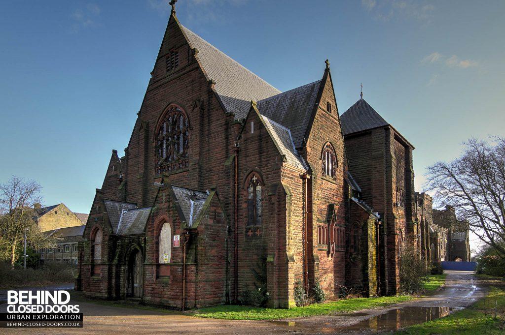 St Joseph's Seminary Upholland - Main chapel external