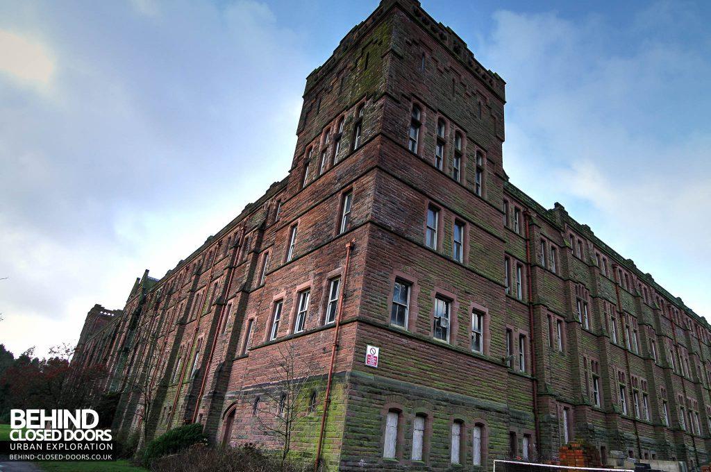 St Joseph's Seminary Upholland - External tower corner