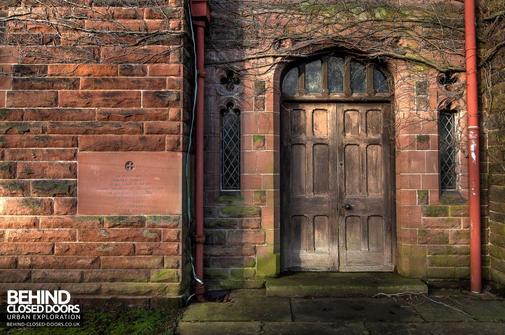 St Joseph's Seminary Upholland - Doorway
