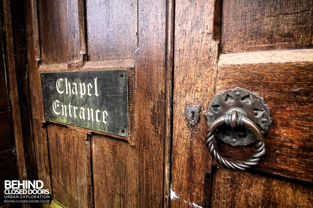 St Joseph's Seminary Upholland - Chapel Entrance