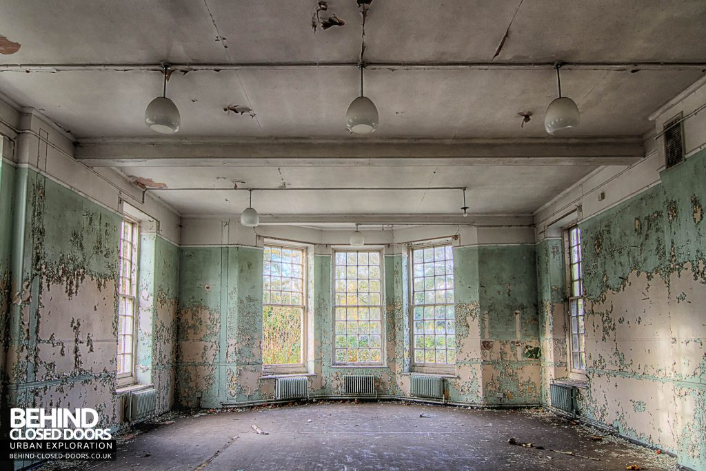 Severalls Hospital - Green and Glass Room
