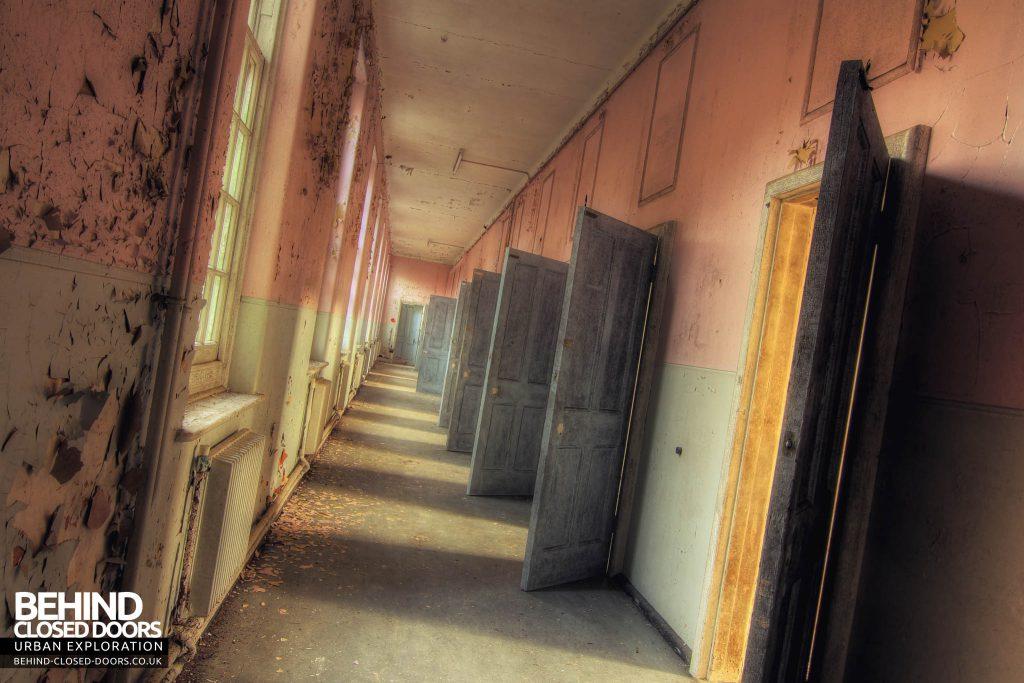 Severalls Hospital - My favourite corridor of doors