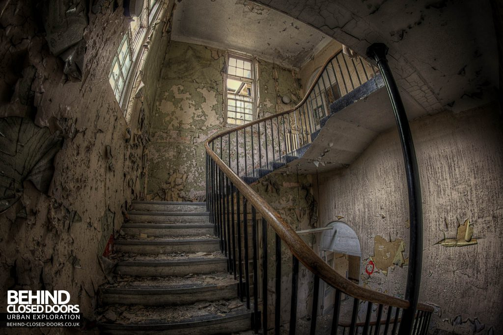 Cambridge Military Hospital, Maternity Ward - Staircase