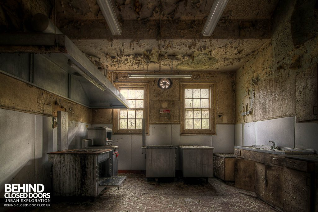 Cambridge Military Hospital, Maternity Ward - Kitchen