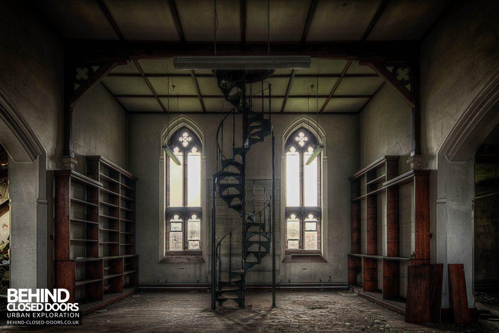 St Joseph's Seminary Upholland - Spiral Staircase
