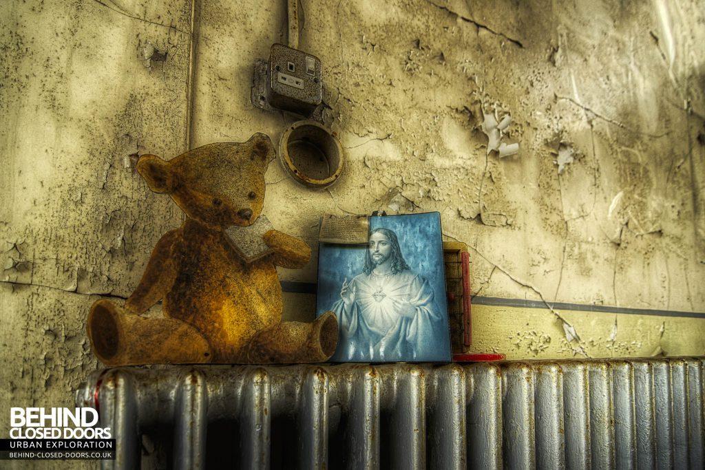 St Gerard's TB Hospital - Teddy Bear and Jesus