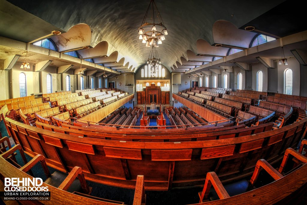 Greenbank Synagogue - Impressive view
