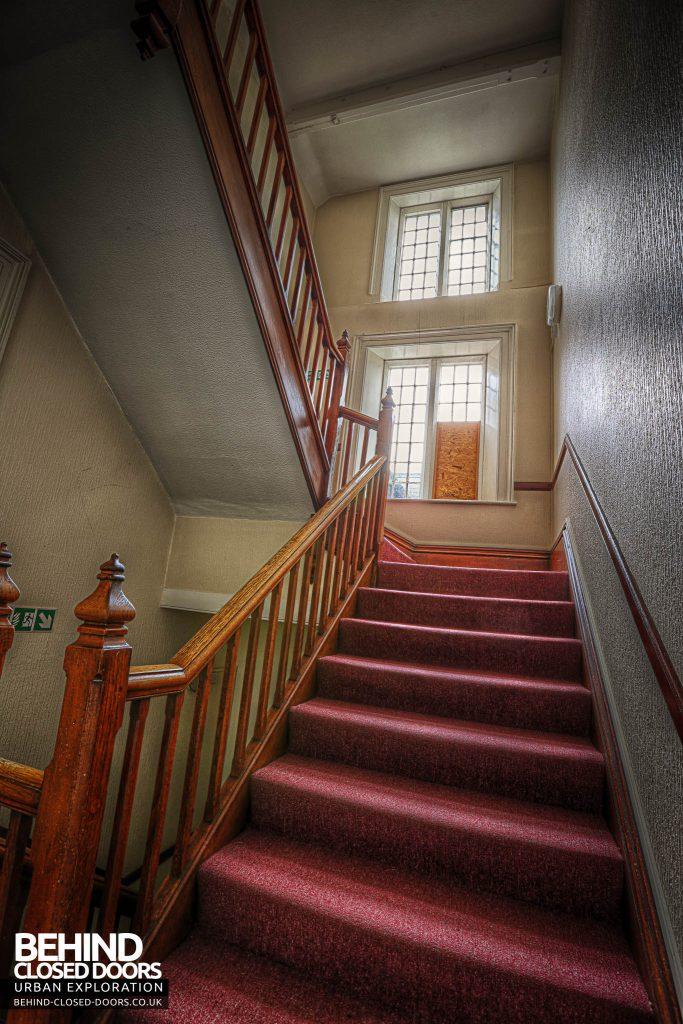 Shelton Asylum - Main Stairs