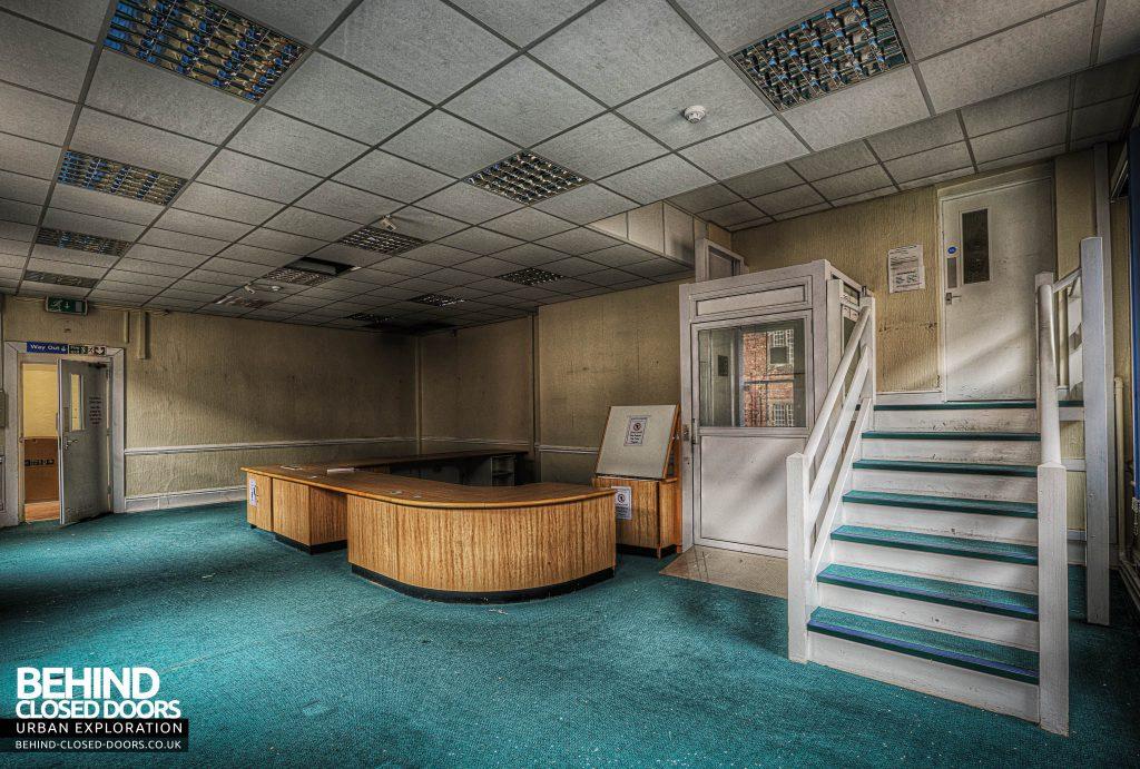 Shelton Asylum - Reception Area