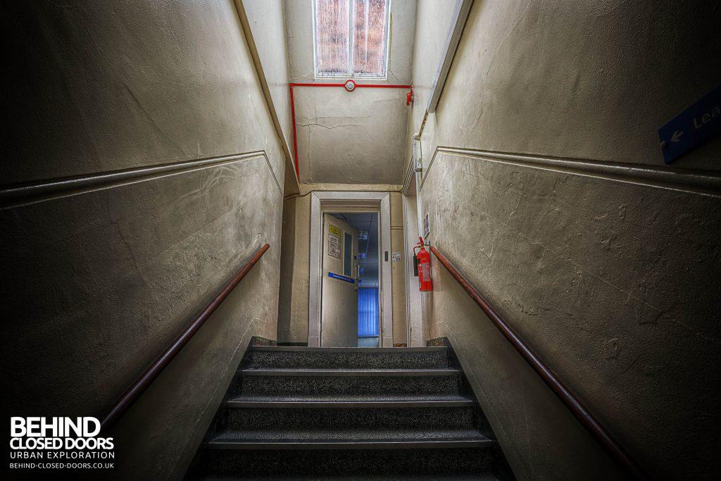Shelton Asylum - Staircase