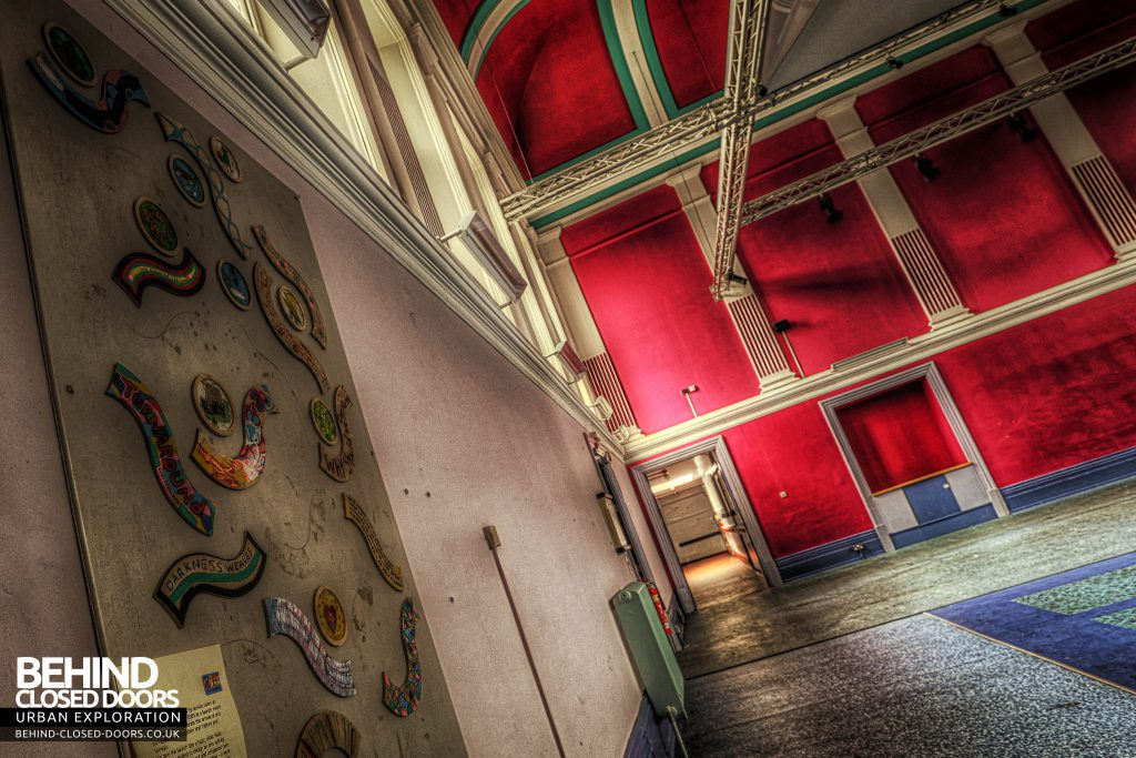 Shelton Asylum - Artwork in the hall