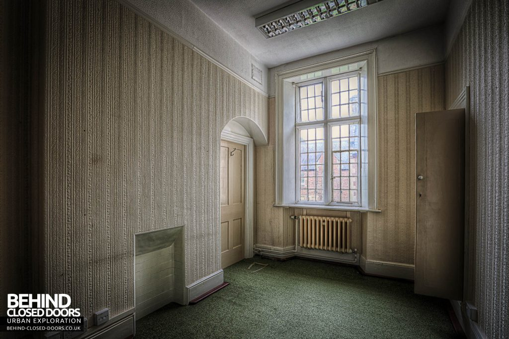 Shelton Asylum - A room in the admin section