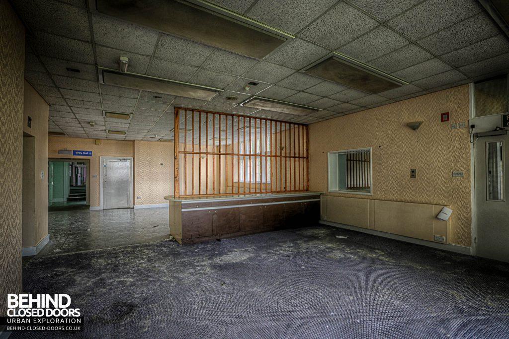 Shelton Asylum - Ward admin area