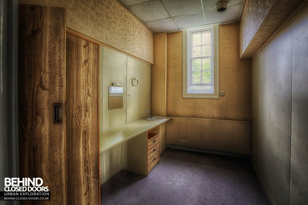 Shelton Asylum - Patients room in newer section