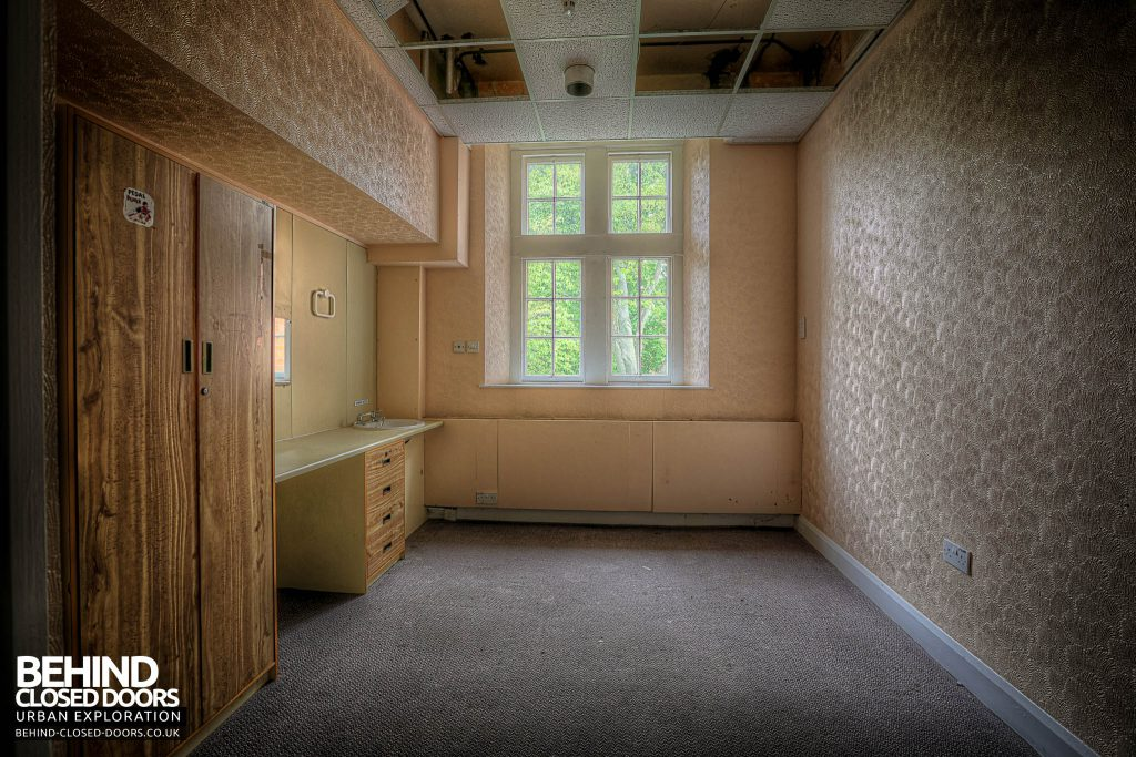Shelton Asylum - Another Patient room in newer section