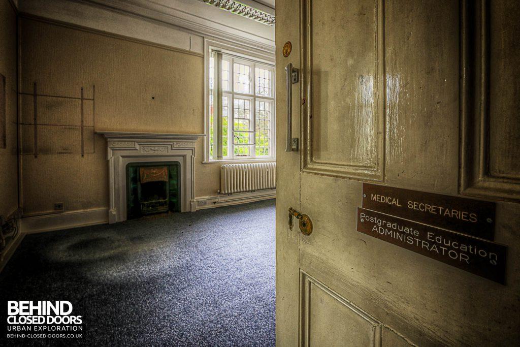 Shelton Asylum - Office in admin area