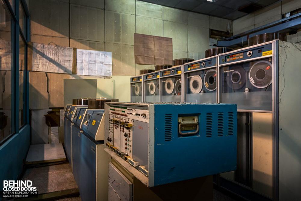 Chernobyl Power Plant - Magnetic tape storage