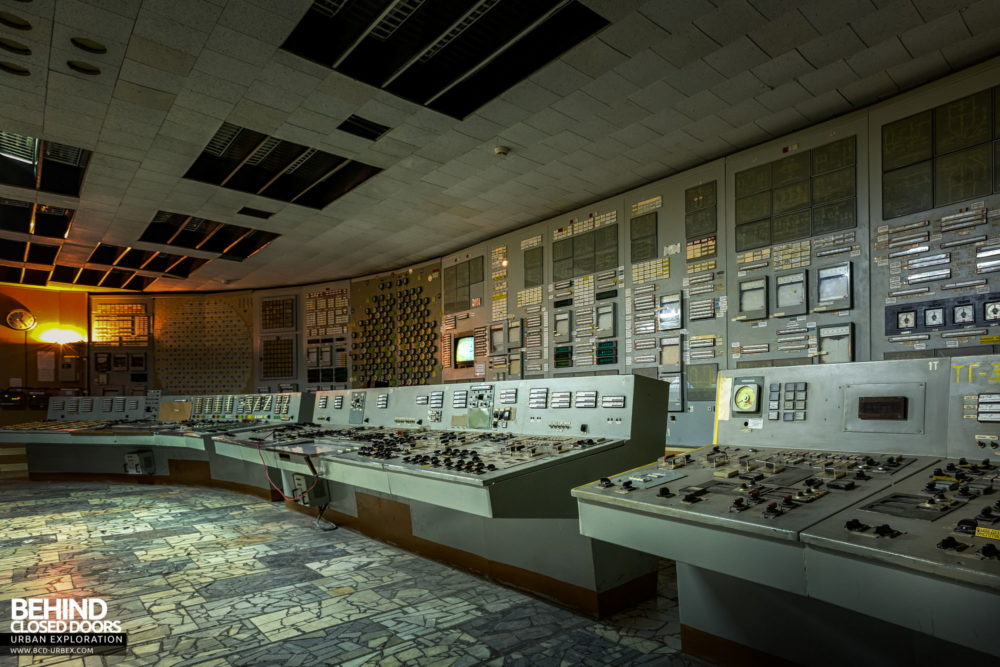 Chernobyl Power Plant - Control Room 2