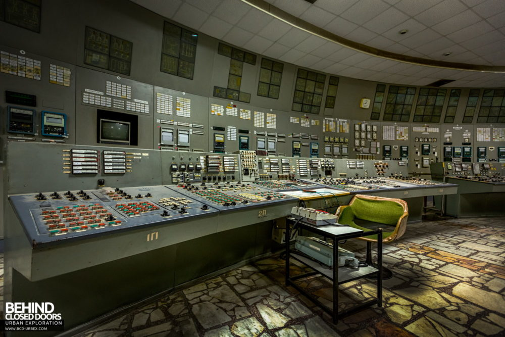 Chernobyl Power Plant - Control Room 3