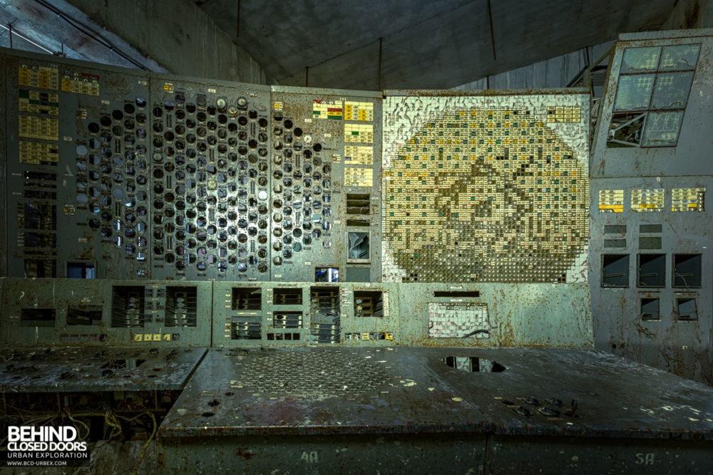 Chernobyl Power Plant - Unit 4 Reactor Controls