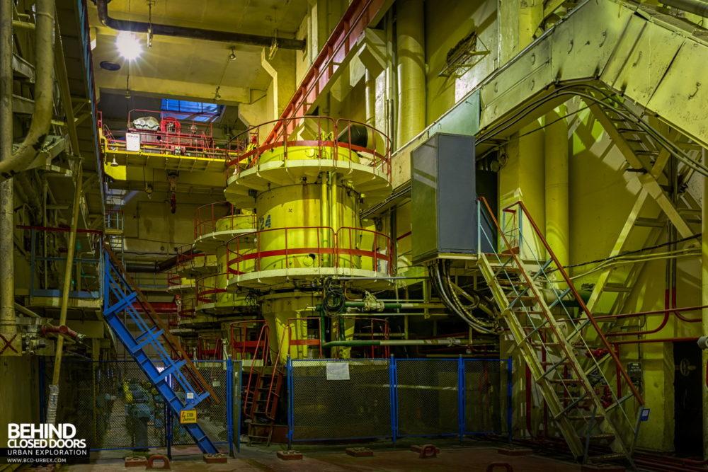 Chernobyl Power Plant - Unit 3 main circulation pumps