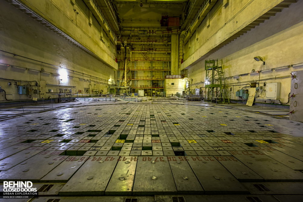 Chernobyl Power Plant - Closer view of the nuclear reactor