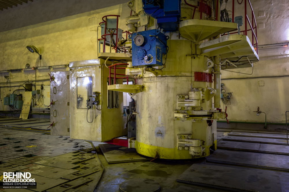 Chernobyl Power Plant - This machine enabled the reactor to be refuelled whilst in use