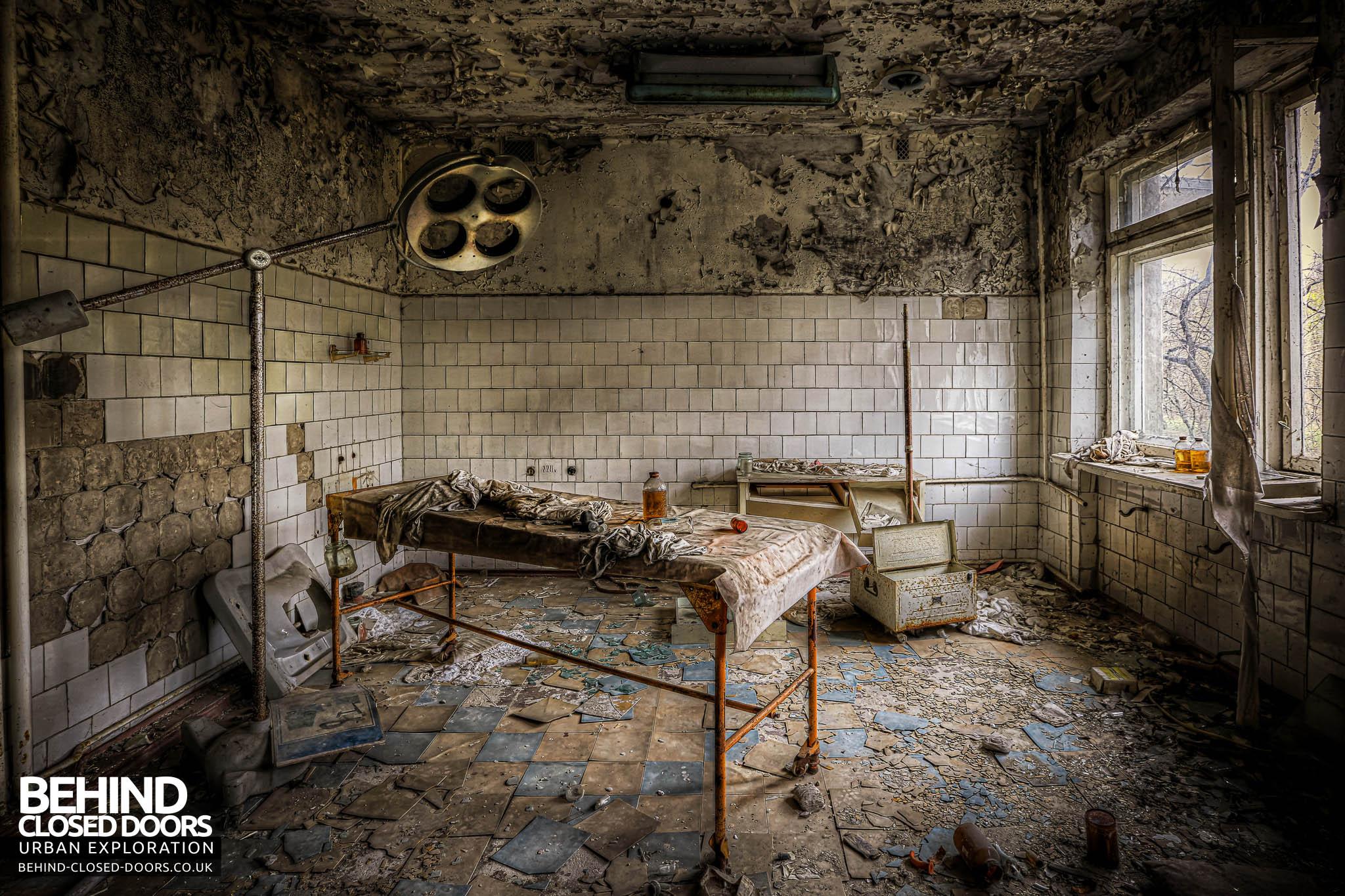 Pripyat Hospital Operating Room 187 Urbex Behind Closed