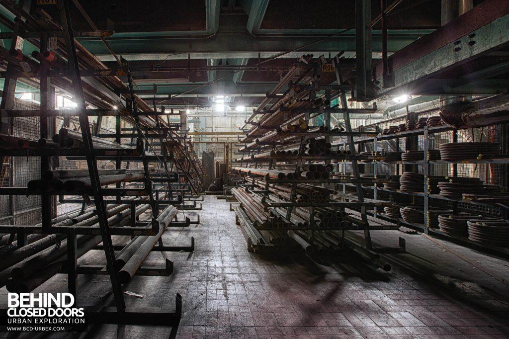 Ruien Power Plant - Spare parts storage srea