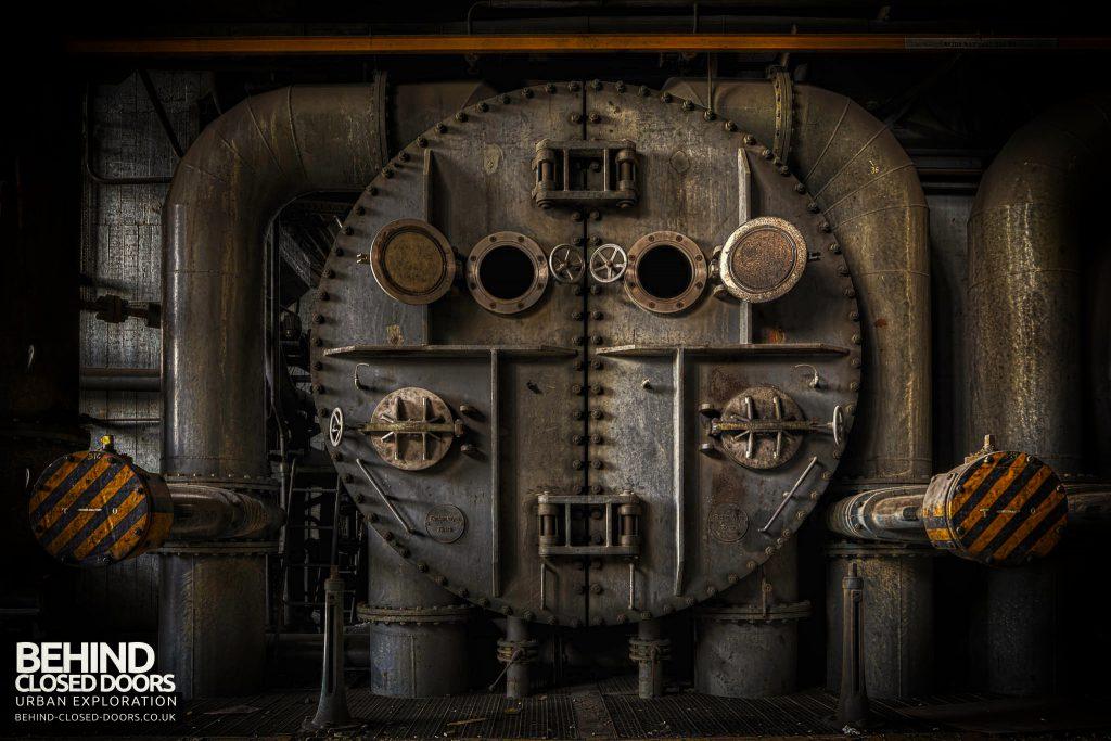 Ruien Power Plant - Boiler face