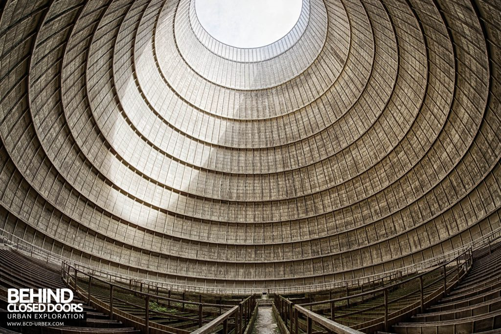 IM Cooling Tower - Inside the cooling tower