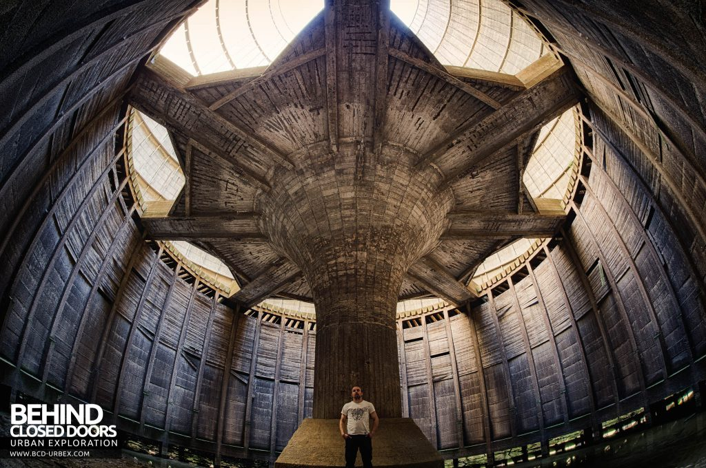 IM Cooling Tower - Selfie under the centre section