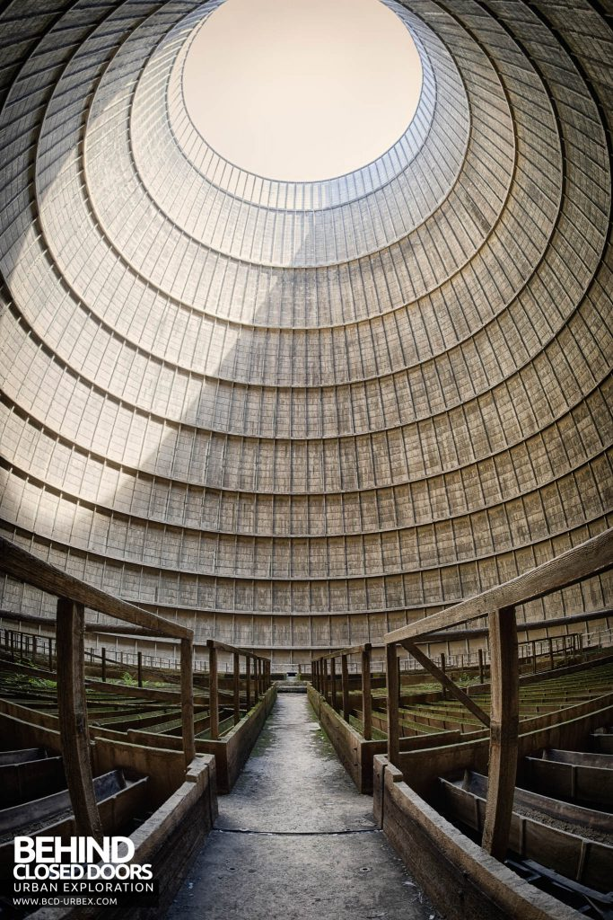 IM Cooling Tower - On the walkway