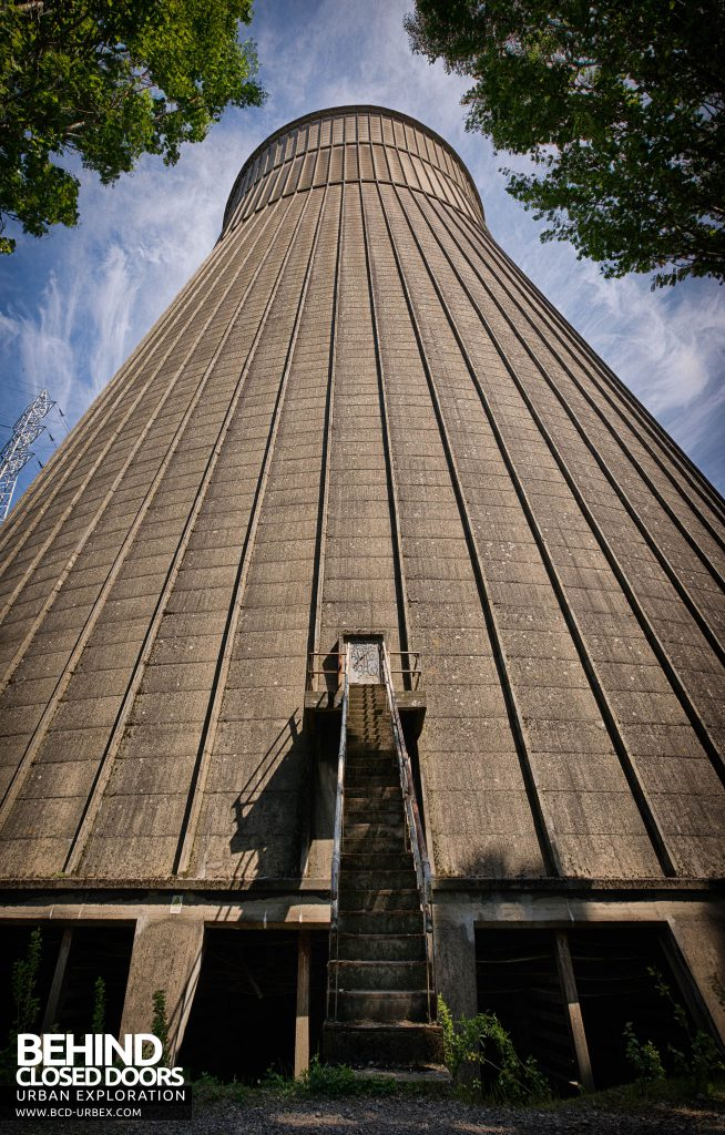 IM Cooling Tower - Steps leading into the upper section
