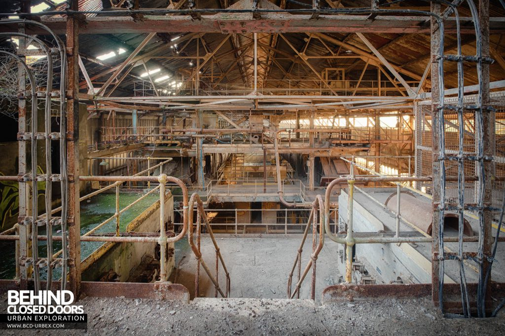 Shoreham Cement Works - Above the feeder end