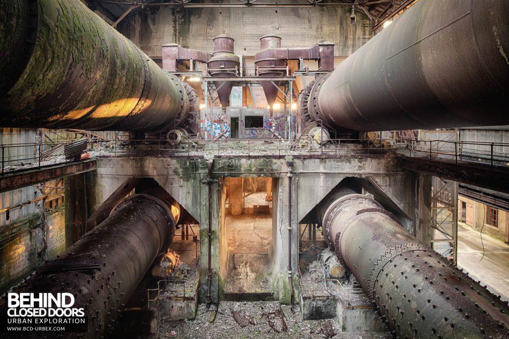Shoreham Cement Works - Quad pipes