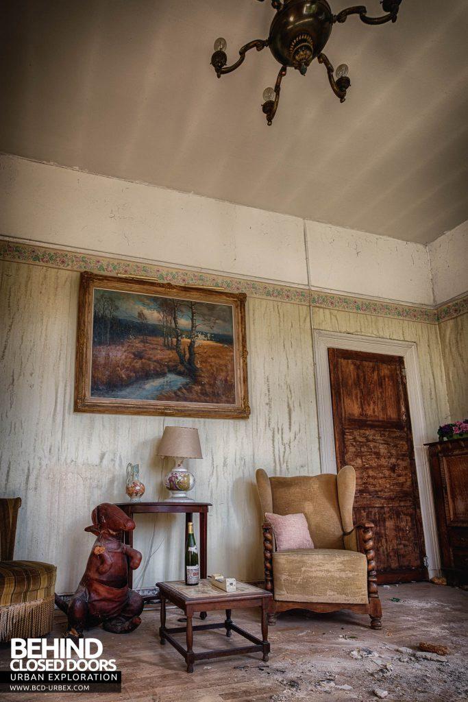 Villa Directeur - Living Room
