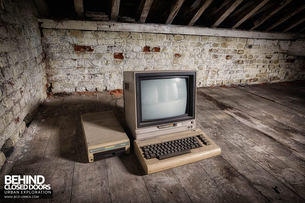 Villa Directeur - Commodore 64 in the attic