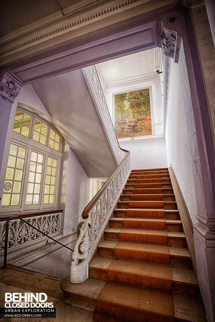 Alla Italia, Belgium - An impressive staircase
