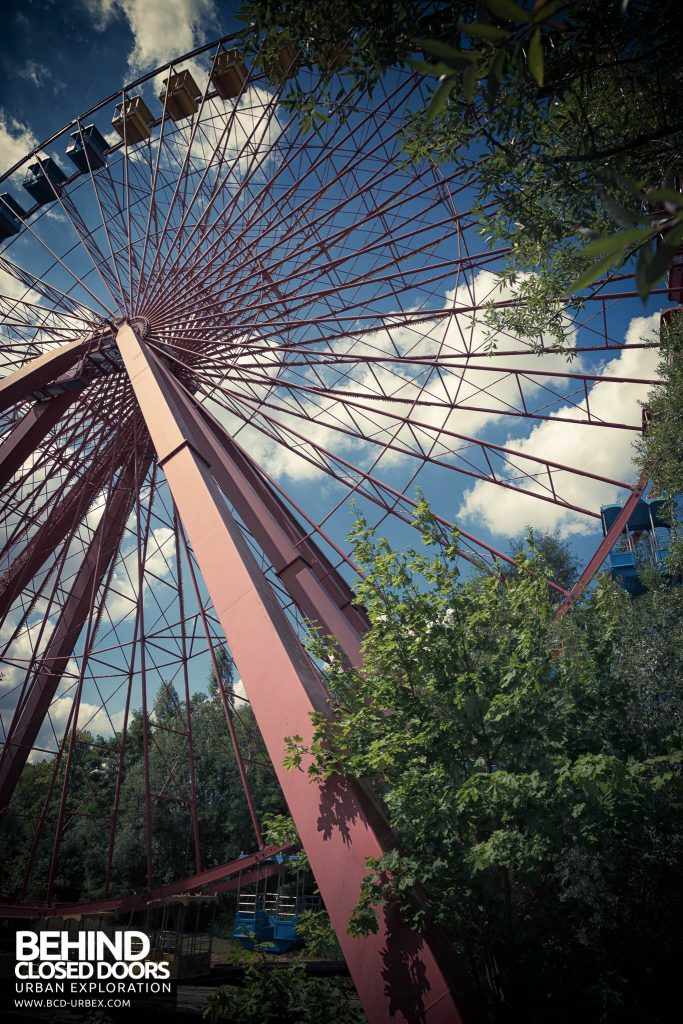 Spreepark Theme Park - Big wheel