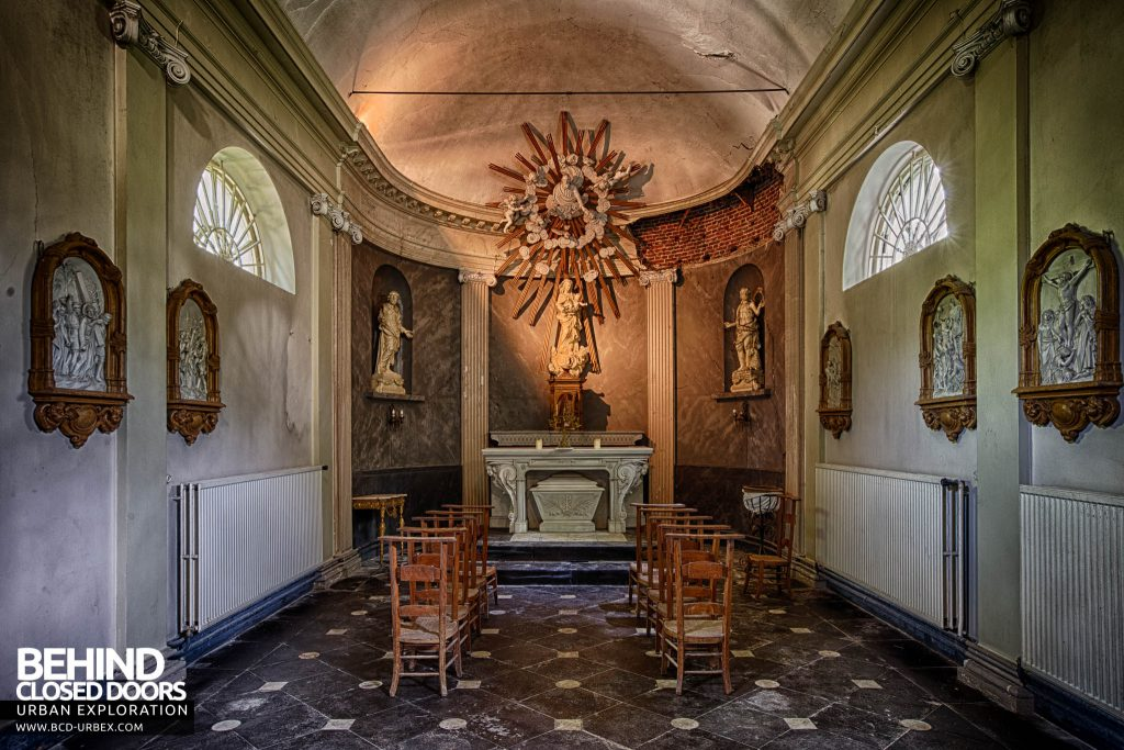 Chateau de la Chapelle - The chapel after which the house takes it names