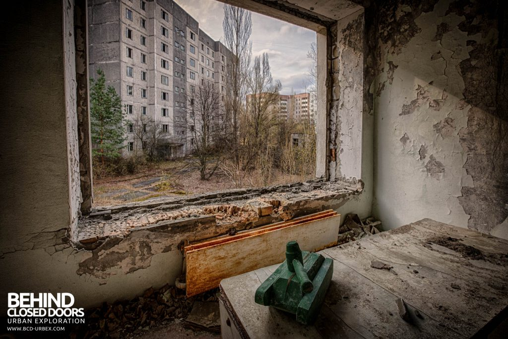 Pripyat Schools and Nurseries - Tank toy in another window