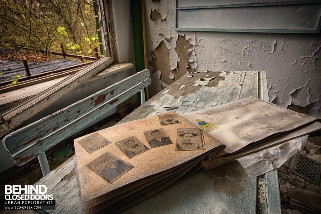Pripyat Schools and Nurseries - Photos in a book