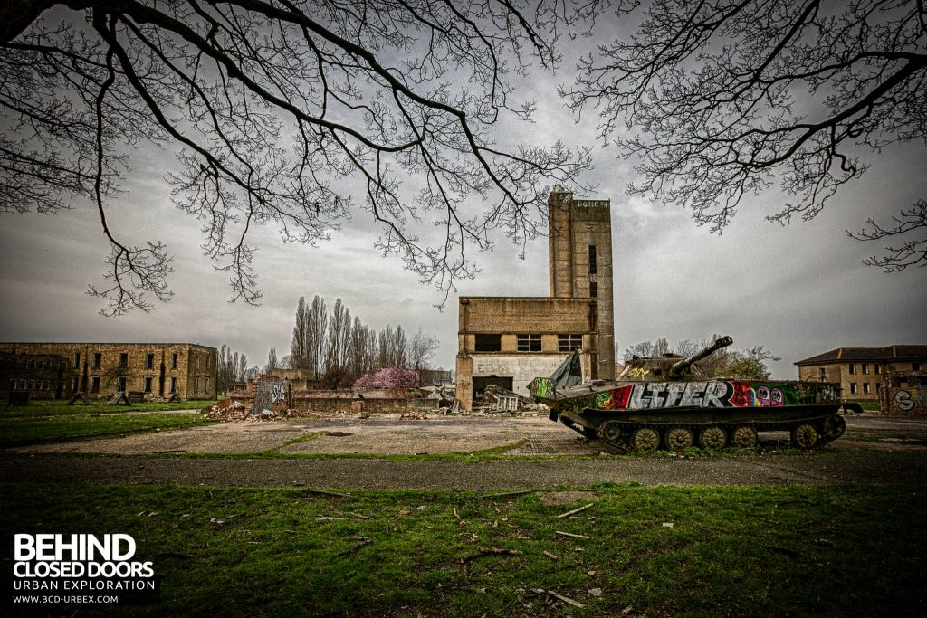 RAF Upwood - Another tank